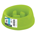 M-Pets Slow Feeder Dog Bowl - Green
