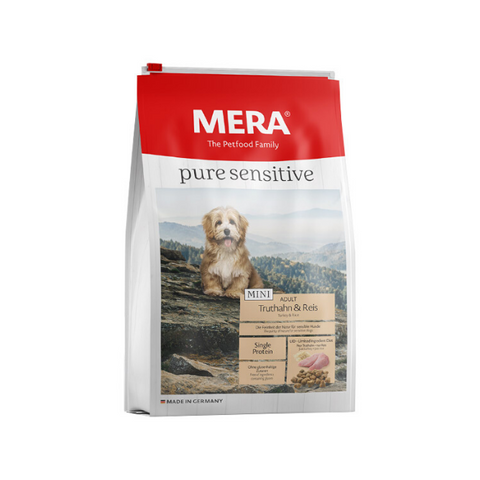 Meradog Pure Sensitive MINI Turkey and Rice Dog Food