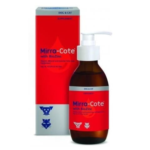 Mirra-Cote Biozinc Dog & Cat Skin Supplement