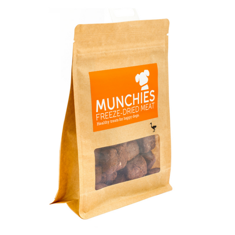 Munchies Ostrich Freeze-Dried Dog Treats