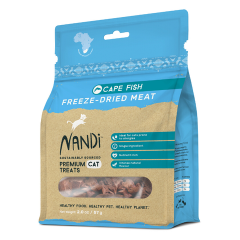Nandi Cape Fish Freeze-Dried Cat Treats