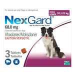 Nexgard Medium Dog 10-25kg Chewable Tick & Flea Tablets