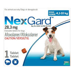 Nexgard Small Dog 4-10kg Chewable Tick & Flea Tablets
