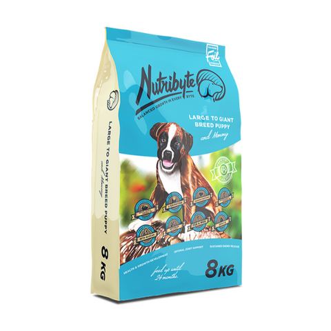 Nutribyte Large Puppy Food