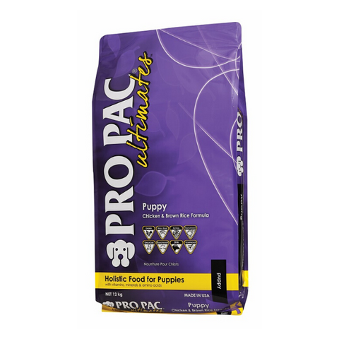 Pro Pac Ultimates Chicken & Brown Rice Puppy Dog Food