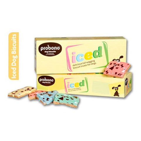 Probono Iced Dog Biscuits