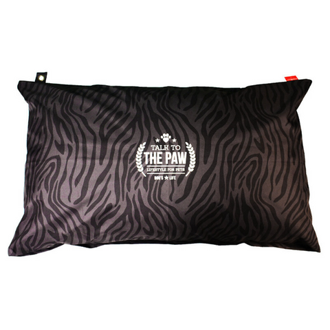 Dog's Life Harper Dog Cushion - Zebra