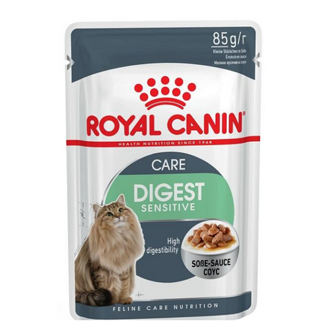 ROYAL CANIN Digest Sensitive Gravy Cat food Pouches