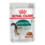 ROYAL CANIN Instinctive 7+ Gravy Senior Cat Food Pouches
