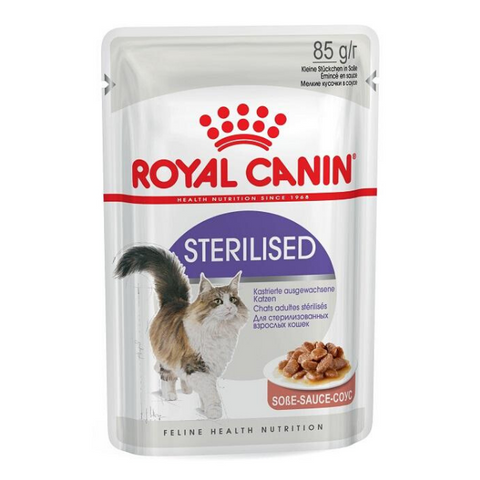 ROYAL CANIN Sterilised Gravy Cats Food Pouches
