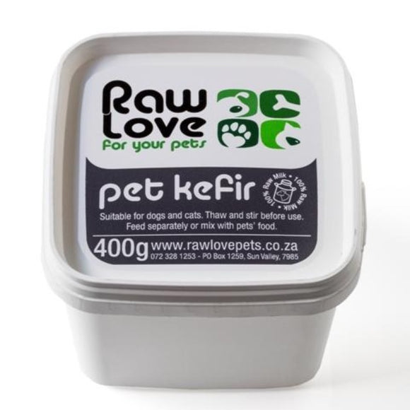 Raw Love Cat & Dog Kefir Organic Probiotics