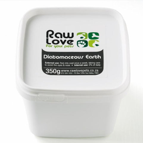 Raw Love Diatomaceous Earth Organic Tick & Flea Treatment