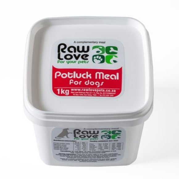 Raw Love Dog Food - Pot Luck