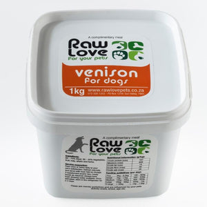 Raw Love Dog Food - Venison