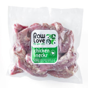Raw Love Dogs & Cats Chicken Necks