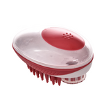 M-Pets  Rubeaz Soap Dispenser & Brush - Red