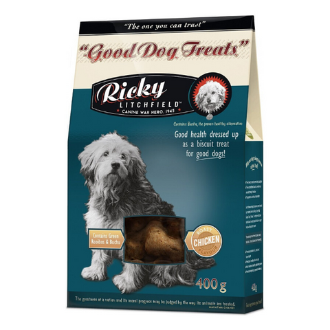 Ricky Litchfield Good Dog Treats - Roast Chicken