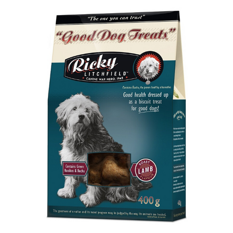 Ricky Litchfield Good Dog Treats - Roast Lamb