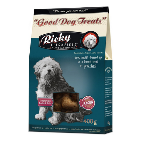 Ricky Litchfield Good Dog Treats  - Smoky Bacon
