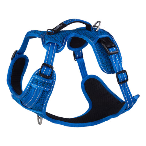 Rogz Blue Explore Dog Harness