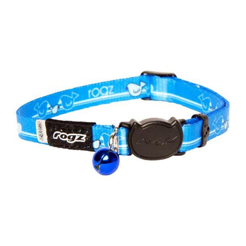 Rogz Blue KiddyCat Break Away Kitten & Cat Collar