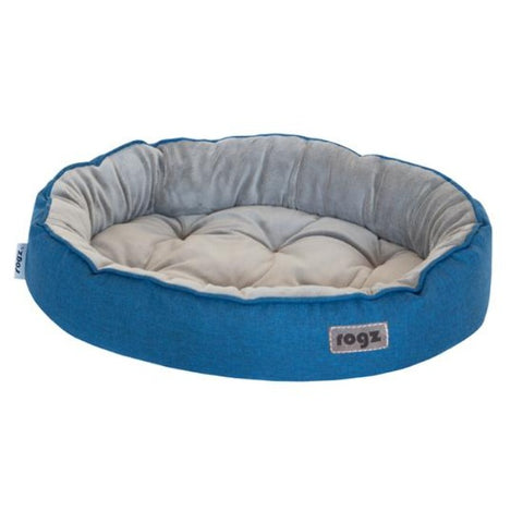 Rogz Cuddle Pod Cat Bed - Blue