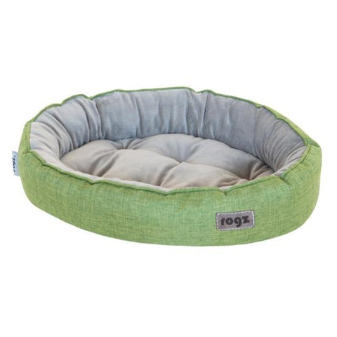 Rogz Cuddle Pod Cat Bed - Green