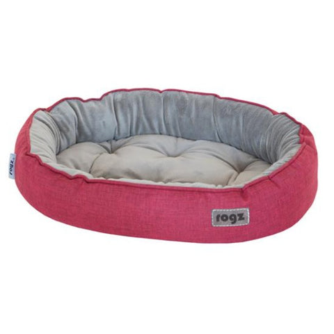 Rogz Cuddle Pod Cat Bed - Red