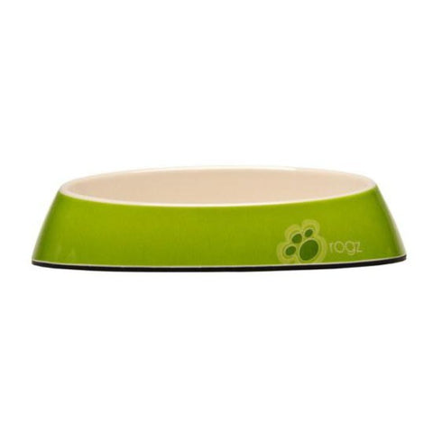 Rogz Fishcake Cat Bowl -  Lime