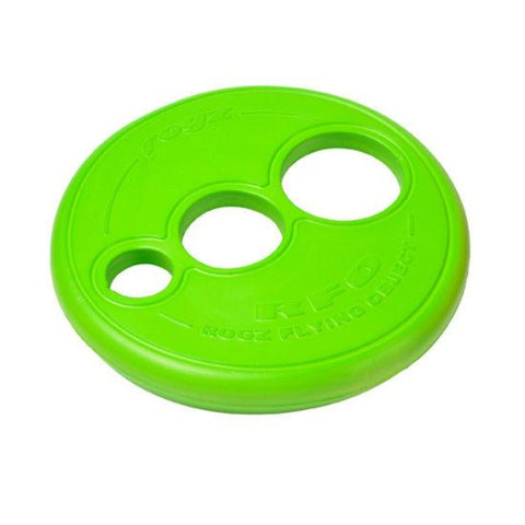 Rogz Flying Frisbee Dog Toy - Lime