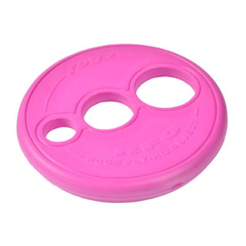 Rogz Flying Frisbee Dog Toy - Pink