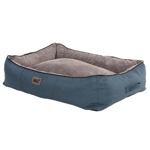 Rogz Indoor 3D Pod Dog Bed - Grey & Blue