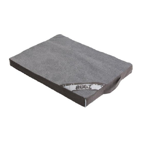 Rogz Lounge Flat Pod Dog Futon - Grey