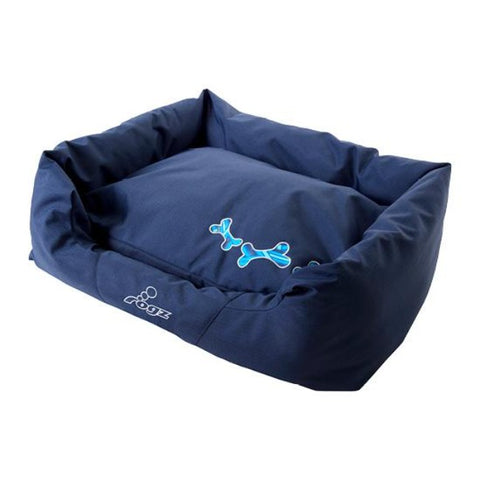 Rogz Navy Zen Spice Podz Dog Beds - Blue