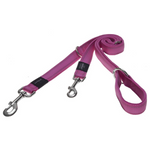 Rogz Pink Fixed Utility Reflective Dog Leash