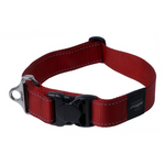 Rogz Red Reflective Utility Side Release  Dog Collar