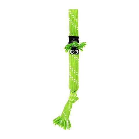 Rogz Scrubz Oral Care Dog Toy - Lime