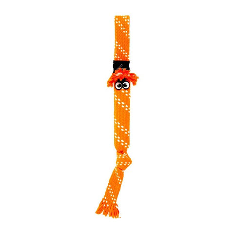 Rogz Scrubz Oral Care Dog Toy - Orange