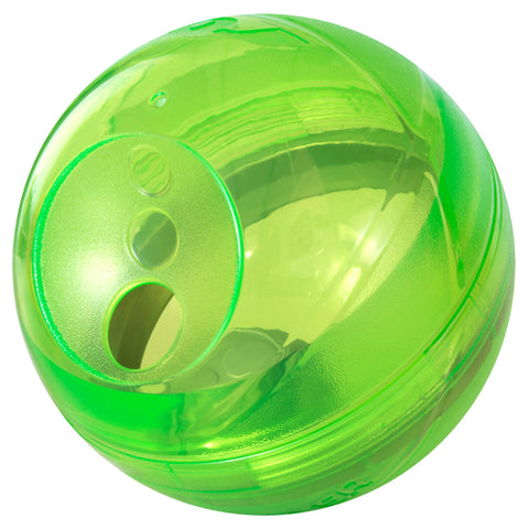 Rogz Tumbler Slow Feeder Dog Toy - Lime