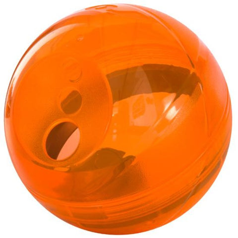 Rogz Tumbler Slow Feeder Dog Toy - Orange
