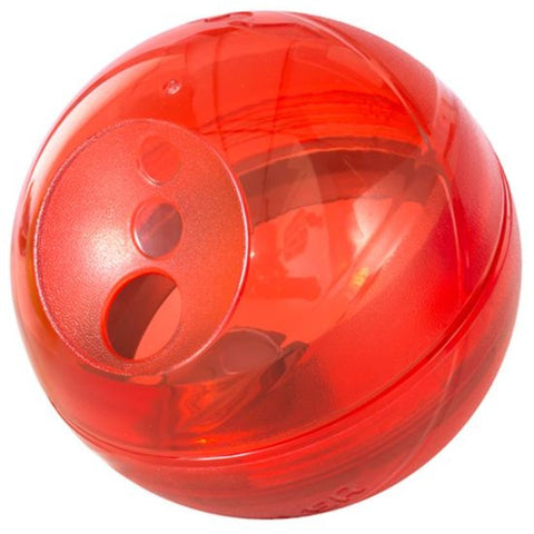 Rogz Tumbler Slow Feeder Dog Toy - Red