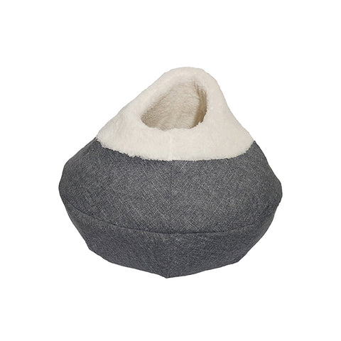 Rosewood Round Cat Cave - Grey