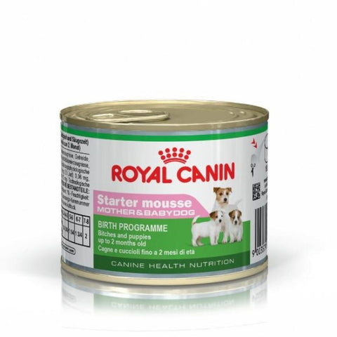 ROYAL CANIN Starter Mousse Mother & Babydog Puppy Canned Food