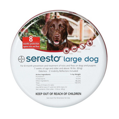 Seresto Large Dog over 8kg Tick & Flea Collar