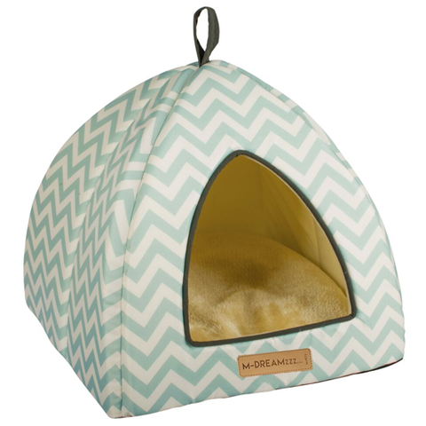 Tasmania Tipi Cat Cube - Blue