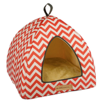Tasmania Tipi Cat Cube -  Red