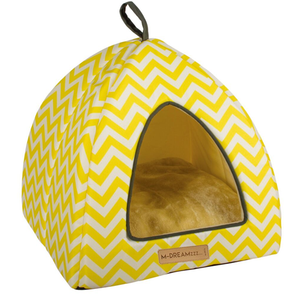 Tasmania Yellow Tipi Cat Cube