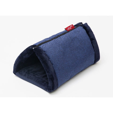 WagWorld Cuddle Cave Dog & Cat Bed - Blue
