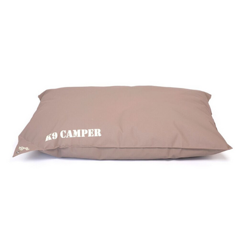WagWorld K9 Camper Dog Cushion - Camel