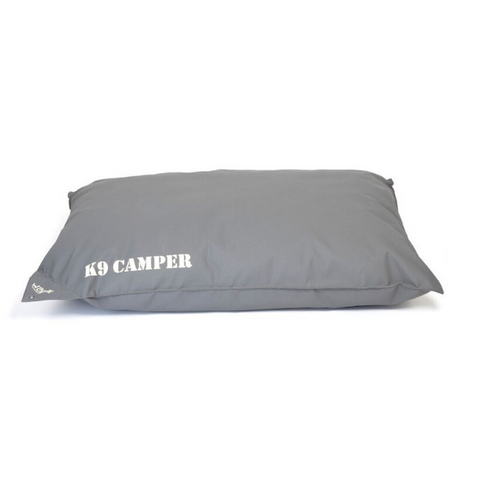 WagWorld K9 Camper Dog Cushion - Charcoal